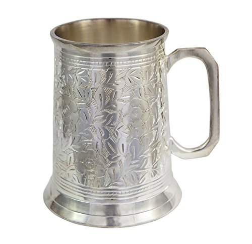 Alchemade Antique Beer Stein, 20 oz, Silver