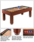 Blue Wave Products NG1201 Ricochet 7 Ft. Shuffleboard Table