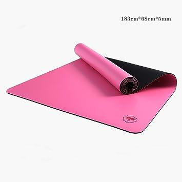 Lwyjd Estera de Yoga 5 mm de Caucho Natural Estera de Yoga ...
