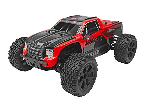 Redcat Racing Blackout XTE 1/10 Scale Electric Monster Truck with Waterproof Electronics, Red by Redcat Racing (Image #14)