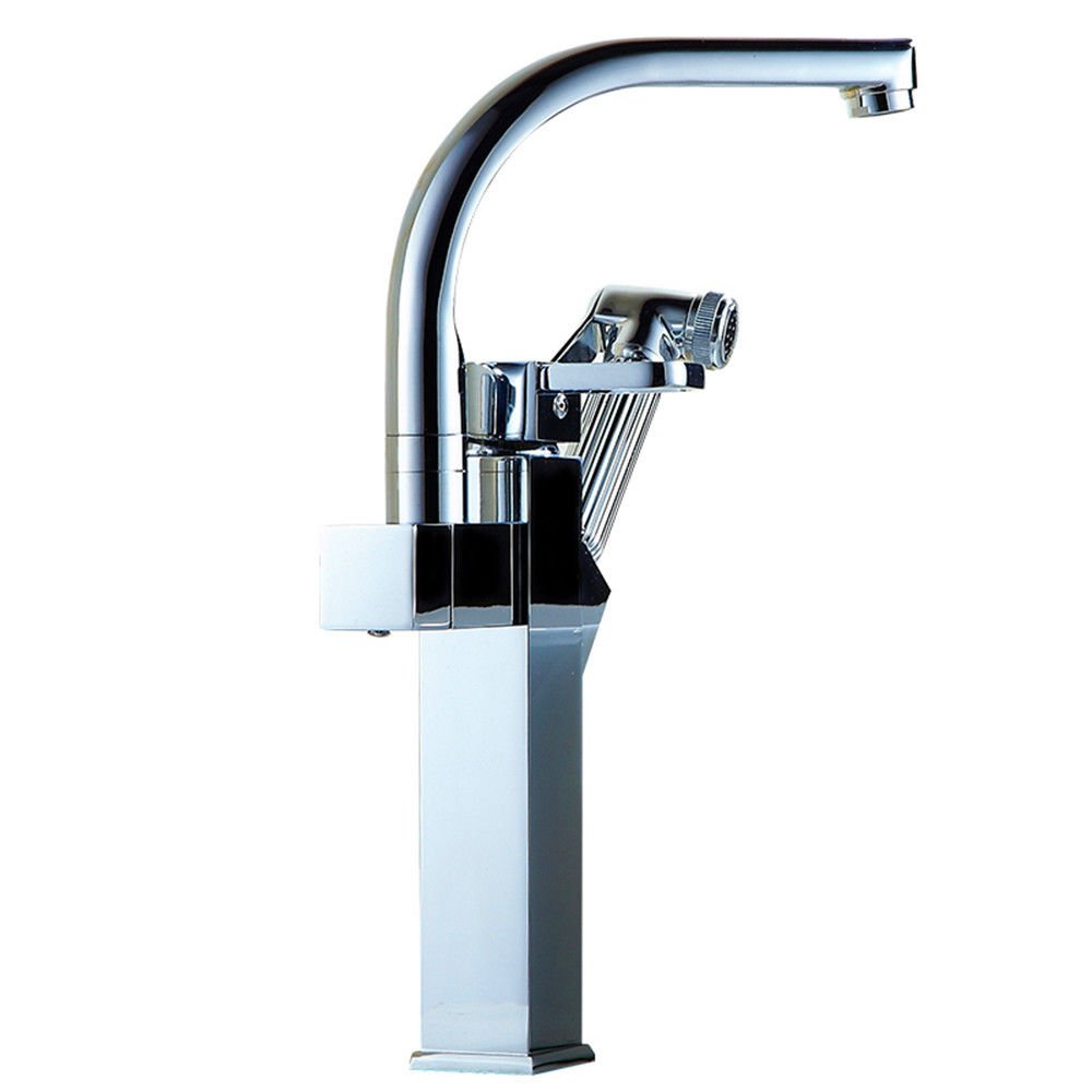 14 LHbox Basin Mixer Tap Bathroom Sink Faucet Pull the bathroom kitchen faucet hot and cold basin tap dish washing basin sink Faucet 15