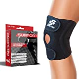 SS SLEEVE STARS Knee Support Brace L, XL Neoprene Compression Stabilizer