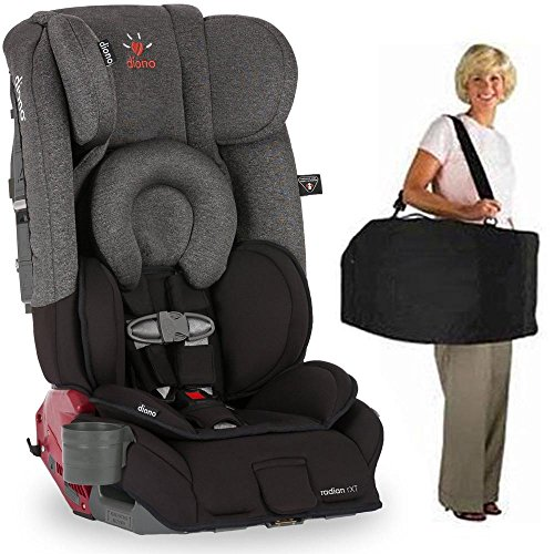 Diono Radian RXT Car Seat With Carrying Bag Black Essex