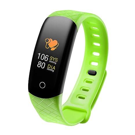 TechCode Relojes Inteligentes para niños, Pantalla a Color Pulsera Actividad con Monitor de Ritmo cardíaco