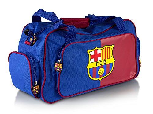 WUNDERSCHÖNER (!!) hoch qualitativer, offiziell lizensierter Original FC Barcelona Reisetasche Tasche, 35cm x 25cm x 24cm - Lizensierter FC Barcelona Fanartikel