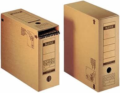 Leitz 60860000 Cartón Marrón caja y organizador para almacenaje de ...