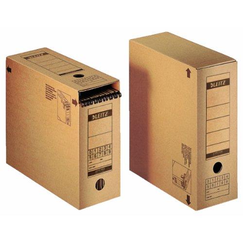 Leitz 60810000 Cartón Marrón archivador organizador - Organizador de almacenaje (Cartón, Marrón, Apaisado, Carpeta, 880 g, 335 x 440 x 280 mm): Amazon.es: ...