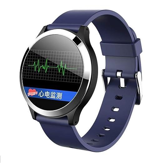 OJBDK Bluetooth SmartWatch Fitness Tracker ECG Sports Watch ...