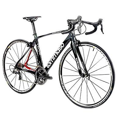 Tommaso Superleggera Carbon Road Bike, Shimano Dura Ace 9000, 11 Speed, Italian Racing Bike