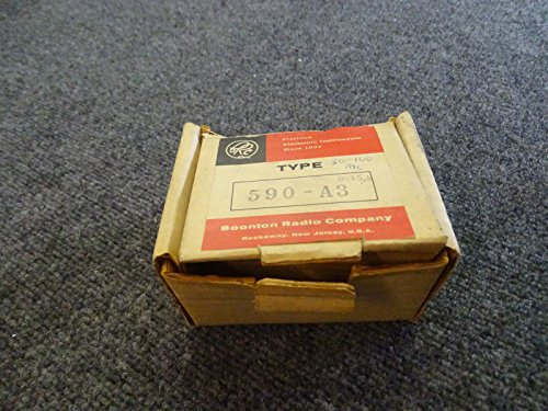 Boonton 590-A3 Standard Inductor Tuning Range 30 to 100 MC BRAND NEW
