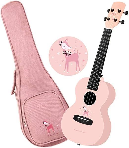Guitarra Acustica 23 Pulgadas de 4 Cuerdas Hawaiian Ukelele con el ...