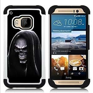 King Case - Grim Reaper Hooded Death - Cubierta de la caja protectora completa h???¡¯???€????€?????brido Body Armor Protecci???