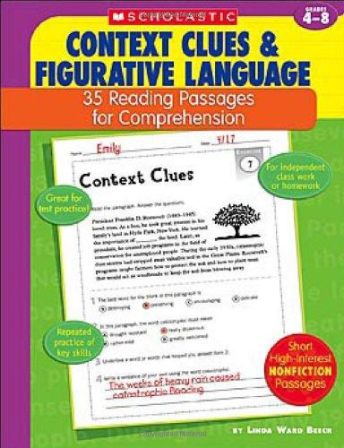 Amazon.com: Context Clues & Figurative Language: 35 Reading ...