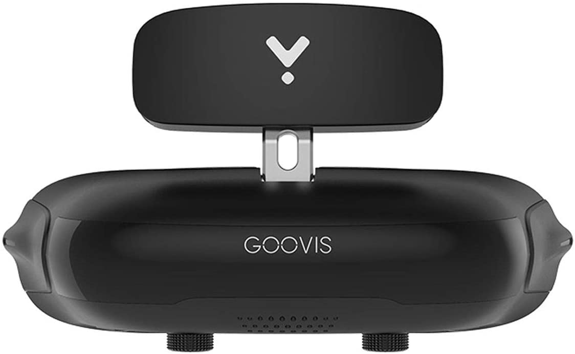 GOOVIS Young Head-Mounted Display, with HD M-OLED Display, Eye Protection HMD Compatible with Laptop PC Xbox One Drone PS4 Nintendo Set-top Box Smartphone (Black)