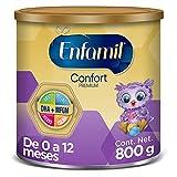 Enfamil Confort Premium  - Fórmula Láctea Infantil para Lactantes de 0 a 12 meses, con Proteína Parcialmente Hidrolizada , Lata de 800 gramos