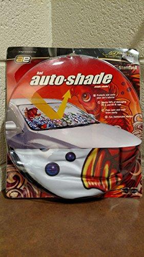 Auto Expressions Ed Hardy Standard Car Koi Auto Shade By Christian Audigier