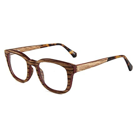 653a9fd113 Peggy Gu Gafas de Madera de Alta Calidad de los Hombres de la Personalidad  Hechos a Mano Semi-sin ...