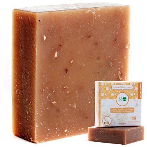 Handmade Soap Lush Oatmeal Honey Soap 360Feel