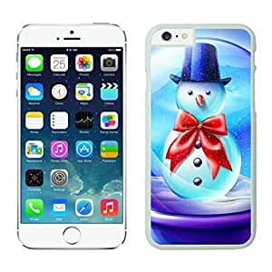 The Christmas Tree On Christmas Day Lovely Mobile Phone Protection Shell for iphone 6 Case-Unique Soft Edge Case(2015),Merry Christmas iPhone 6 Case 89 White