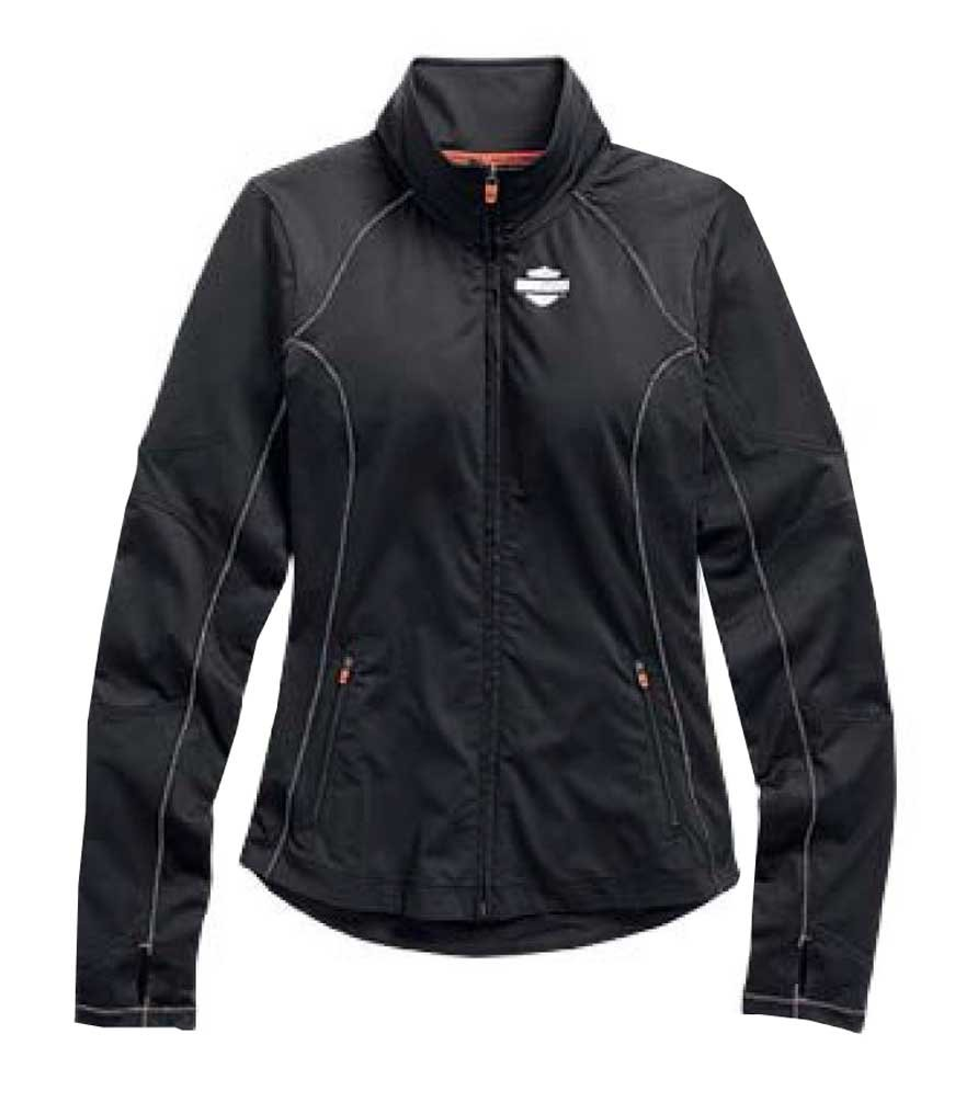 Harley-Davidson Womens Jacket, Bar & Shield Vented Performance 99157-15VW (1W)