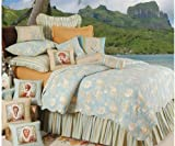 C&F Home Natural Shells King Size Quilt Set