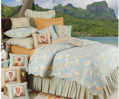 C&F Home Natural Shells King Size Quilt Set ()