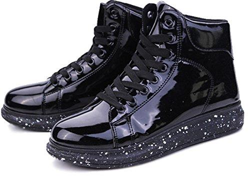 CSDM Uomini Nuovi sport di moda di moda di svago Scarpe di nozze luminose di pallacanestro di Runnig , black , 41