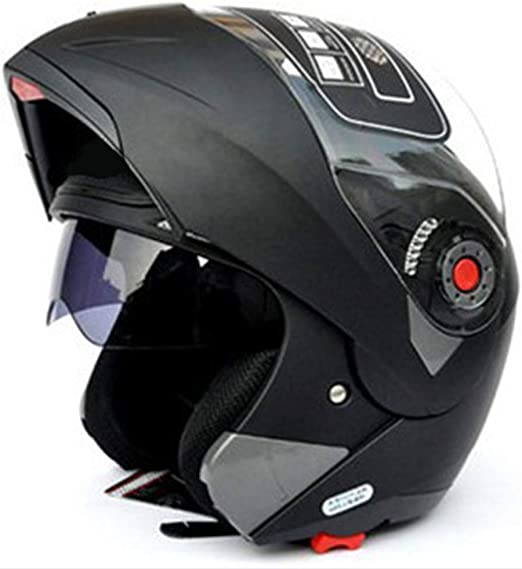 Casco integral de cara unisex modular abatible frontal ABS casco ...