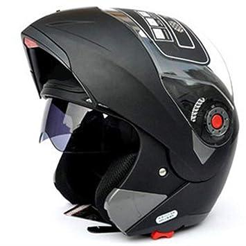Casco integral de cara unisex modular abatible frontal ABS casco traje de bicicleta de carretera casco