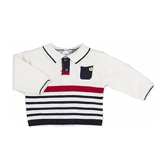 Tutto Piccolo - Sudadera de deporte - para bebé niño blanco crudo ...