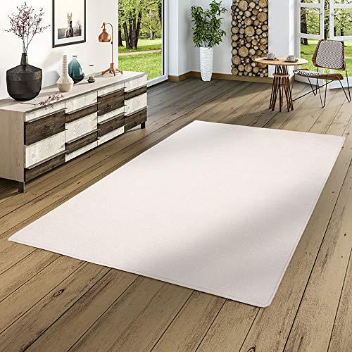 Snapstyle Hochflor Velours Teppich Teppich Teppich Luna Weiss in 24 Größen B0785YPXGC Teppiche 16ec04