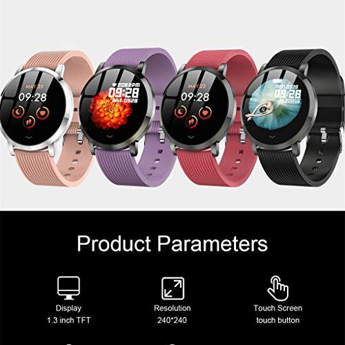- Matoen Men Sport Fitness Smart Watch Message Reminder Tracker Heart Rate Step Calorie Counter Sleep Sedentary Monitor Waterproof Wristband Bracelet (Gray)