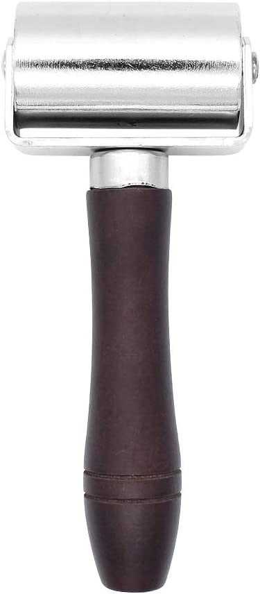 60mm Cuir Outil de Presse Maroquinerie Artisanat pour Cuir Yuhtech Rouleau De Pression pour Cuir en Acier Au Carbone