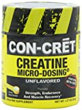 Con-Cret Creatine with Micro-Dosing Unflavored 48 servings, 1.27 Ounce Tub, Health Care Stuffs