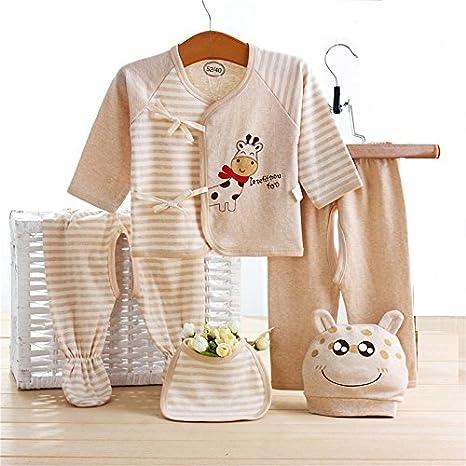 Bebé recién nacido algodón ropa Set, ruirs Niza bebé Infant 5pcs ...