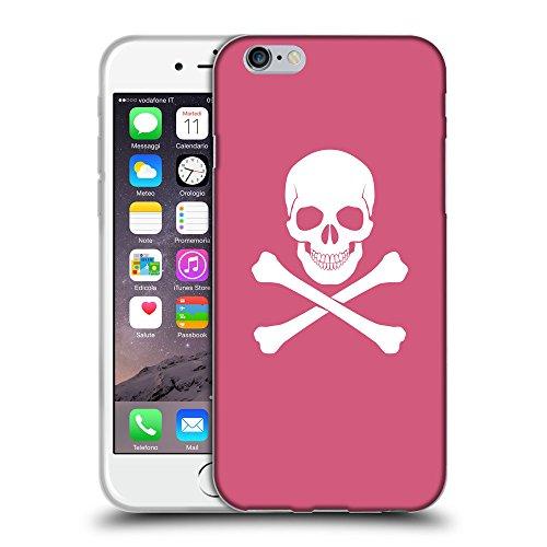 """GoGoMobile Coque de Protection TPU Silicone Case pour // Q09470614 Os croisés 2 Rougir // Apple iPhone 6 PLUS 5.5"""""""