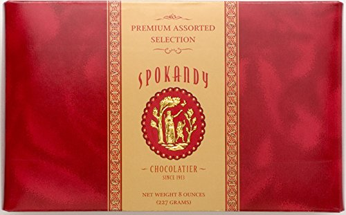 Spokandy Premium Selection Assorted Chocolates (8 oz)