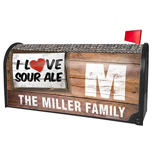 (NEONBLOND Custom Mailbox Cover I Love Sour ale)