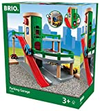 BRIO World - 33204 Parking Garage   Railway Accessory with Toy Cars for Kids Age 3 and Up