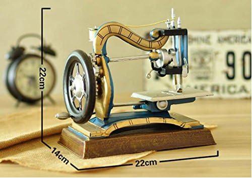 YSYYSH Decoración de la máquina de Coser casera Retro Artesanías ...