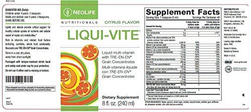 Liqui-Vite Liquid Multi-vitamin for Children with TRE-EN-EN
