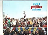 1981 PHILADELPHIA PHILLIES VETERANS STADIUM CALENDAR LOOKS MINT & HARD TO FIND !