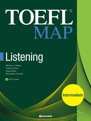 TOEFL MAP LISTENING(INTERMEDIATE) (Korean edition)