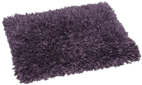 FHE Group Tissue Rug Bath Mat, 45 by 27 Inches, Purple from The FHE Group