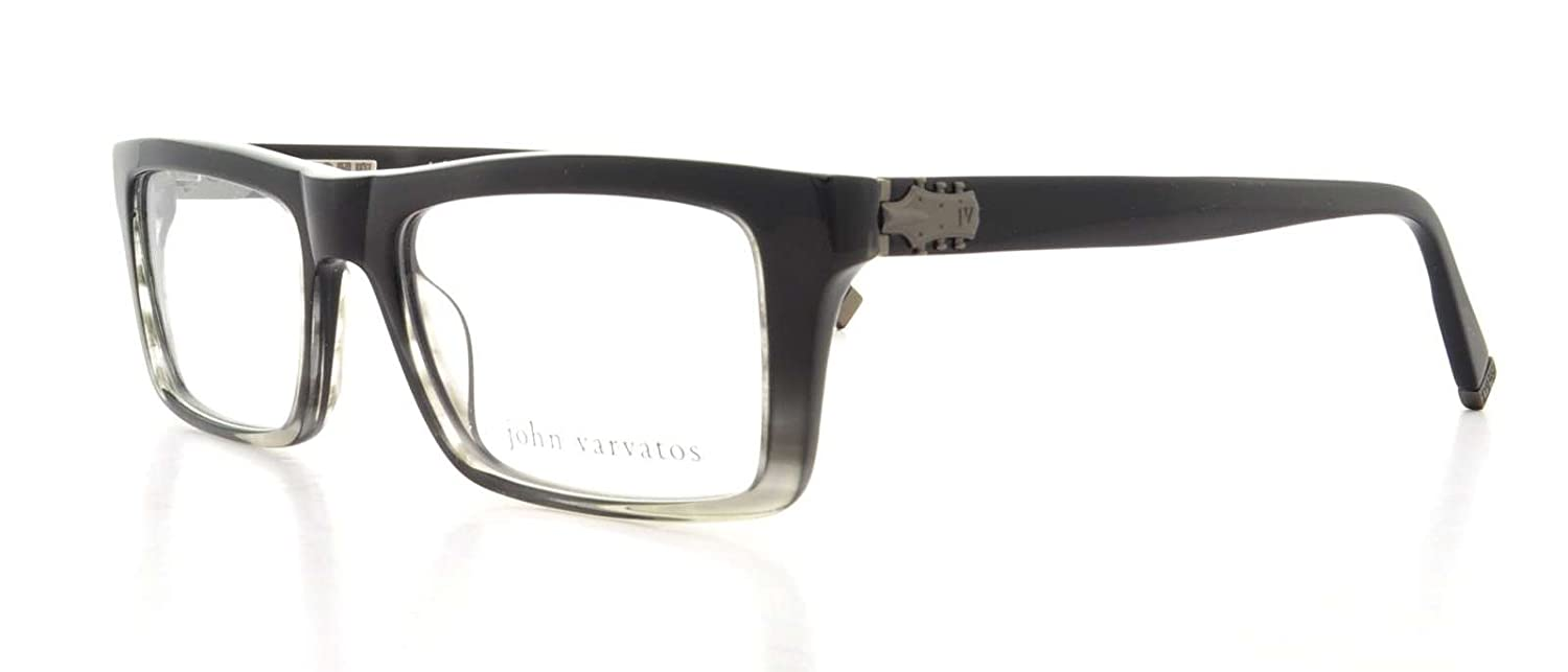 John Varvatos Prescription Eyeglasses - V346 Grey - 52/18/145