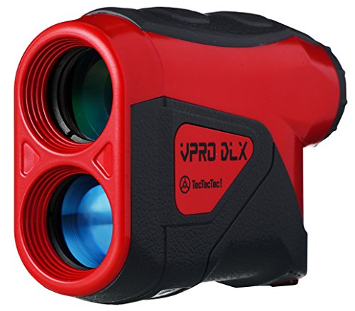TecTecTec VPRO DLX Golf Rangefinder - Waterproof Laser Range Finder
