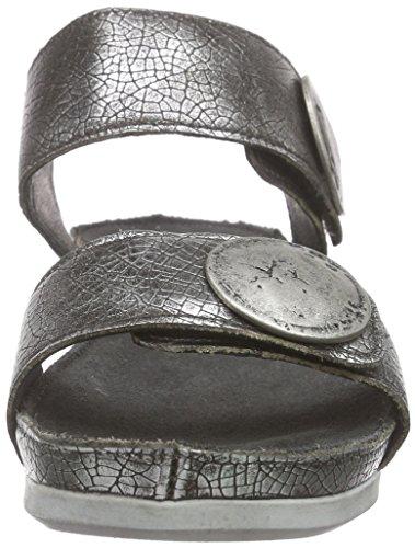 cashott 13040 - Sandalias Mujer Plateado - plateado (C.Tibet silver770)