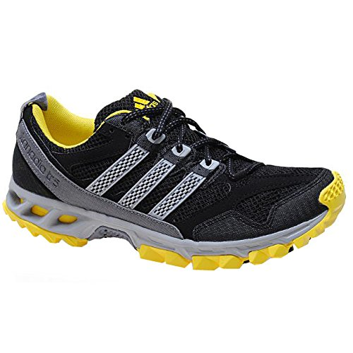 online retailer baad2 2a41f adidas Kanadia TR 5 M Men s Running Shoes Black Size  12.5  Amazon.co.uk   Shoes   Bags