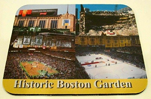 Historic New England Sport Boston Garden, Bruins, Celtics Mouse Pad SKU #1001
