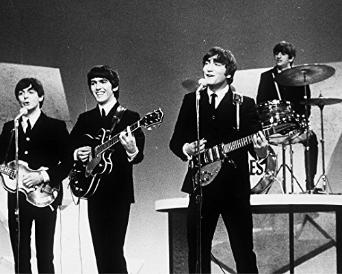 Television Still Of The Beatles Performing On The Ed Sullivan Show - 10